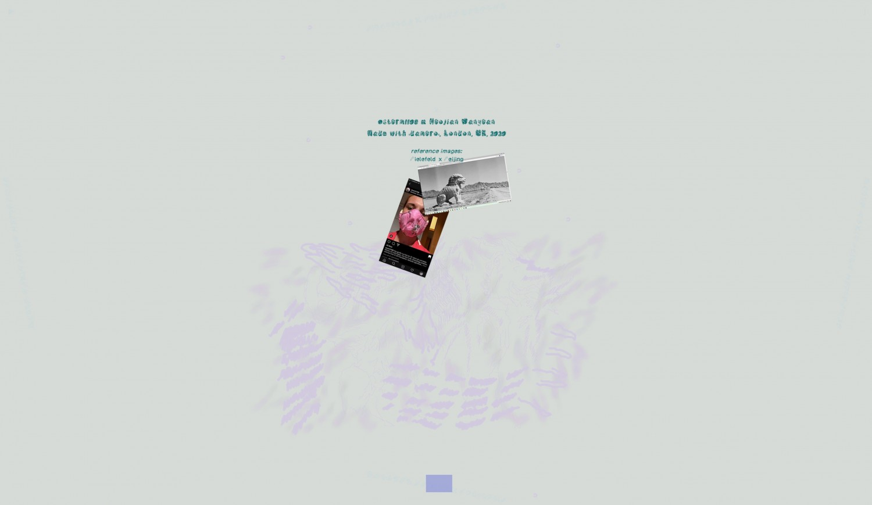 """Bildschirmaufnahme der Arbeit """"Bielefeld.Beijing.Systems"""", die sich auf die spezifische Untersuchung der Zwischenräume von Bild-, Architektur- und Gaming-Räumen konzentriert. Speziell für das Projekt """"In This Layered World, All Perception Is Real"""" hat der Künstler Pete Jiadong Qiang eine interaktive Landschaft entworfen, in der sich die Orte Bielefeld und Peking miteinander verschränken. Die Besucher*innen der Webseite sind eingeladen, sich durch den virtuellen Raum zu navigieren und versteckte Hyperlinks zu entdecken."""